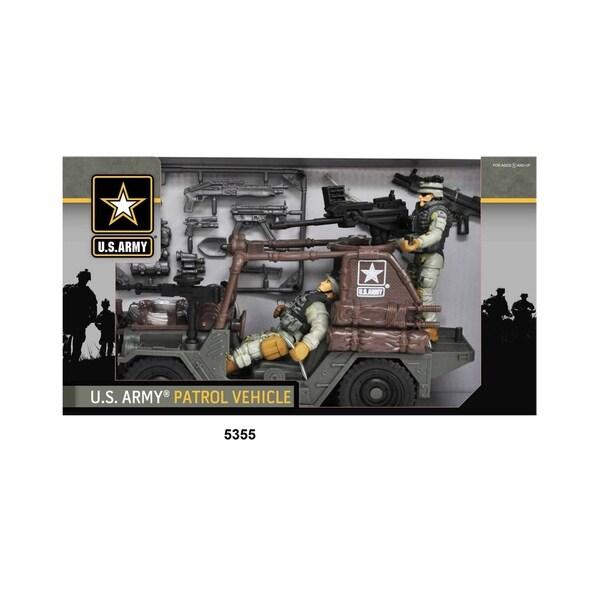 U.S. Army Urban Patrol Vehicle Playset W/ Figures
