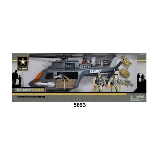 U.S. Army Chopper Playset w/ 2 Soldier Figures