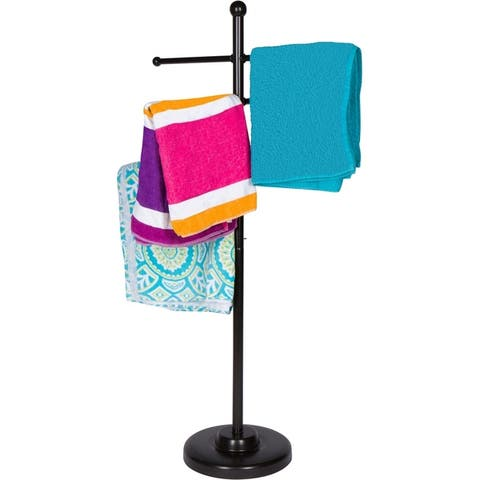 "50"" Towel Rack for Pool and Spa by Trademark Innovations"