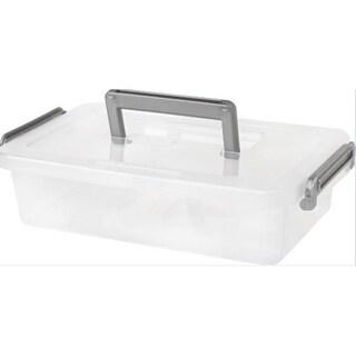 IRIS Medium Modular Storage Latching Box (Pack of 8)