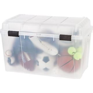 IRIS 138 qt. Clear Storage Trunk (Pack of 3)