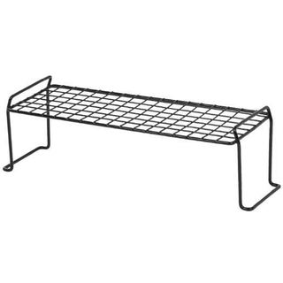 Iris White Steel Small Long Stacking Shelf (2 options available)