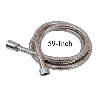 Evideco Shower Hose Stainless Steel Flexible Chrome 59 or 79 Inches