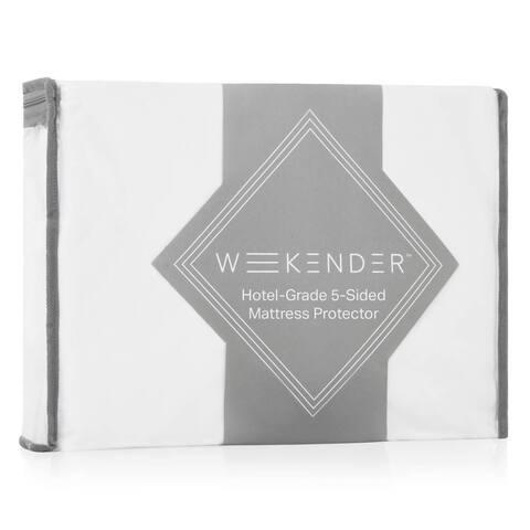 WEEKENDER Hotel-Grade 5-Sided Jersey Mattress Protector