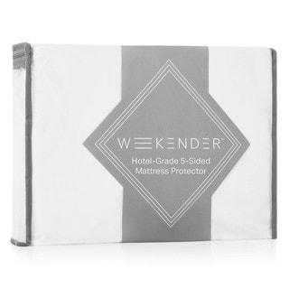 WEEKENDER Hotel-Grade 5-Sided Jersey Mattress Protector