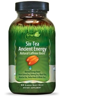 Irwin Naturals Six-Tea Ancient Energy (60 Softgels)