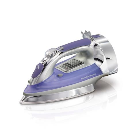 Hamilton Beach Electronic Iron with Retractable Cord