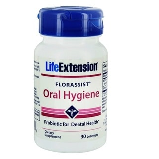 Life Extension Florassist 30-Lozenges Oral Hygiene Probiotic