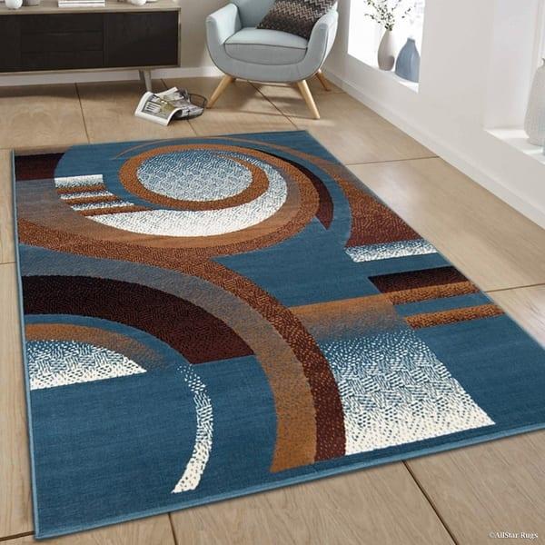 Allstar Modern Abstract Design Rug