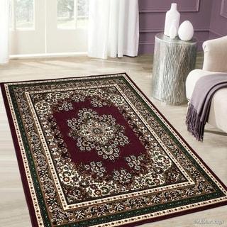 Allstar Woven Traditional Persian Floral Design Rug