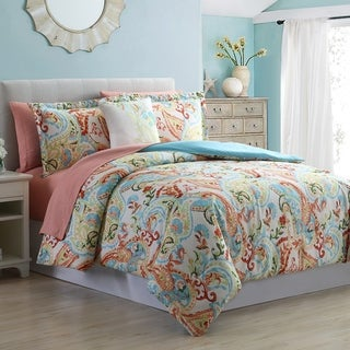 Modern Threads Kailyn 8-Piece Printed Reversible Bed in a Bag