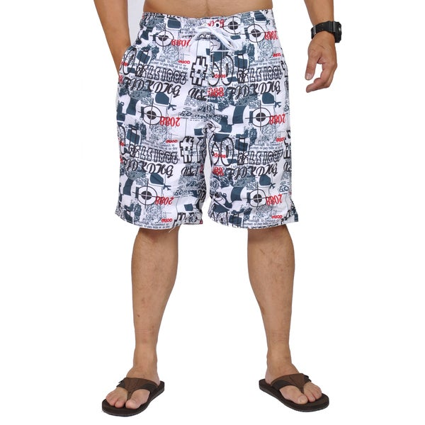b3f024d8d3 Shop Jean Legacy Graphic Design Drawstring Boardshorts - On Sale ...