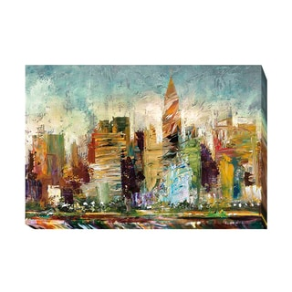 Artistic Home Gallery Bruce Marion 'Metropolis' Gallery-wrapped Canvas Giclee Art