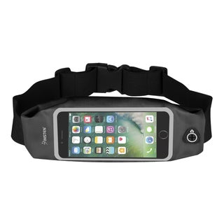 Insten Water Resistant Sweatproof Reflective Waist Pack Running Pouch Bag with Touch Screen Window