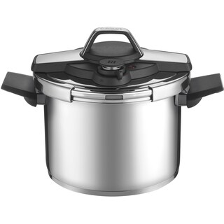 Cuisinart Professional Collection Stainless Steel 6-Quart Pressure Cooker, Black