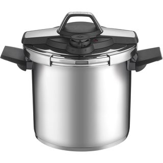 Cuisinart Professional Stainless Steel 8-Quart Pressure Cooker, Black