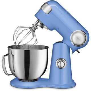 Cuisinart Precision Master 5.5-Quart Stand Mixer, Bright Blue
