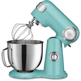 Cuisinart Precision Master 5.5-Quart Stand Mixer, Blue Mint