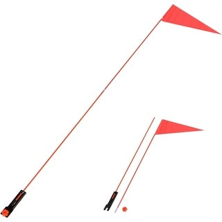 5 Ft. Safety Flag with Bicycle Mounting Bracket by Trademark Innovations