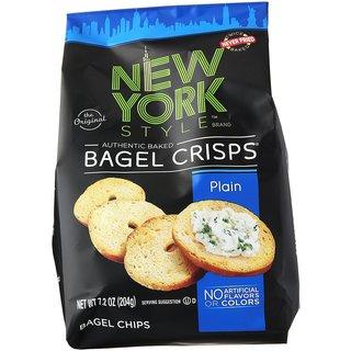 New York Style Bagel Crisps, Plain
