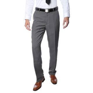 Ferrecci Premium Men's Grey Regular Fit Pants Size 28 in Grey(As Is Item)