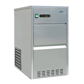 Sunpentown 44 lbs Automatic Stainless Steel Ice Maker https://ak1.ostkcdn.com/images/products/17115937/P23384651.jpg?impolicy=medium