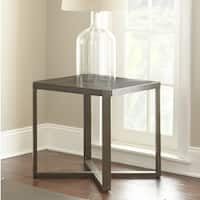 Hartley 48-Inch Rectangle Metal and Wood Coffee Table by Greyson Living