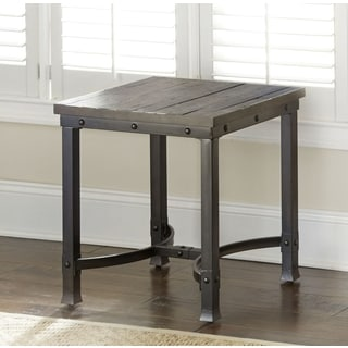 Austin Industrial-style Wood End Table  by Greyson Living