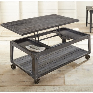 Bon Springdale Industrial Style 48 Inch Rectangle Lift Top Coffee Table By  Greyson Living