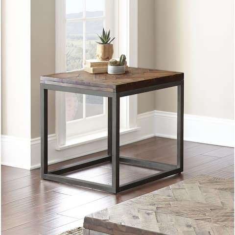 "Lockwood 24-Inch Square End Table by Greyson Living - 24""W x 24""D x 24""H"