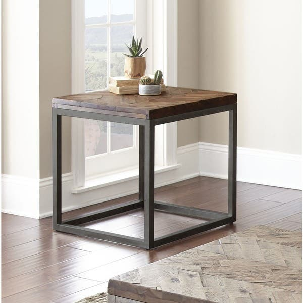 "Shop Lockwood 24-Inch Square End Table by Greyson Living - 24""W x"