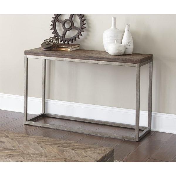Lockwood 48 inch sofa table by greyson living free for Sofa table 48 inches