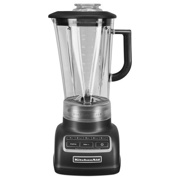 KitchenAid 5-Speed Diamond Blender, Matte Black