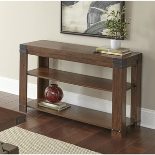 Aldridge 48-Inch Sofa Table with Storage Shelves by Greyson Living