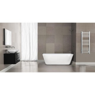 Ancona Svelte Square Wall Mount Electric Towel Warmer