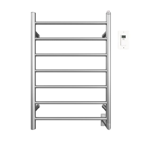 Ancona Comfort Wall Mount Hardwire Towel Warmer with Timer, Brushed