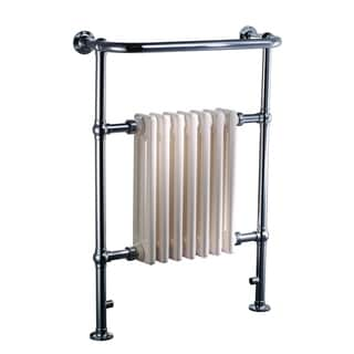 Ancona Comfort Classic 7 Chrome-polished Stainless Steel Freestanding/Wall-mount Electric Towel Warmer