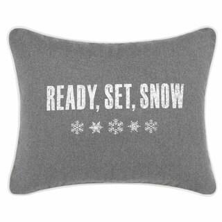 Eddie Bauer Ready Set Snow Throw Pillow