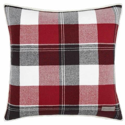 Eddie Bauer Lodge Red Throw Pillow