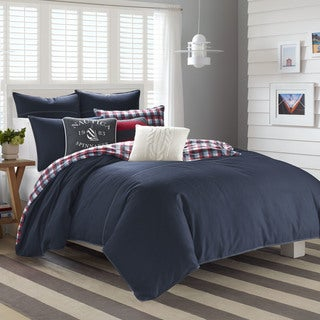 Nautica Seaward Twill Flannel Reversible Comforter Set