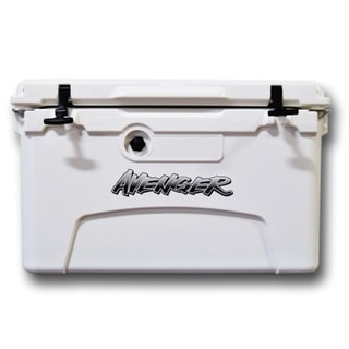 Avenger Hero 45-Quart Cooler - Arctic White