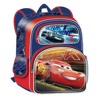 Disney Cars 3 Cars Super Speed Movie 3D 16-Inch Backpack