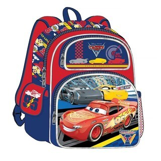 Disney Cars 3 Cars 3 Road Signs 3D 16-Inch Backpack