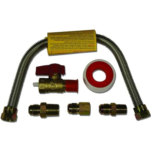 """24"""" Universal Gas Appliance Hook-up Kit GLS200-24-TF - 24 Inch"""
