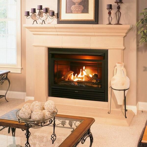 Shop Duluth Forge Dual Fuel Ventless Fireplace Insert 26 000 Btu