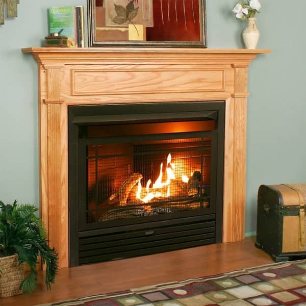 Shop Duluth Forge Dual Fuel Ventless Fireplace Insert 26 000 Btu