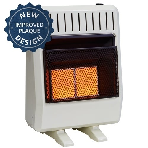 Avenger Dual Fuel Ventless Infrared Heater - 20,000 BTU, ...