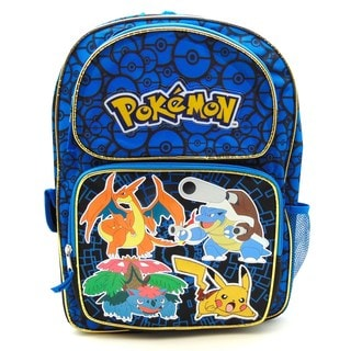 Pokemon Blue 16-Inch backpack