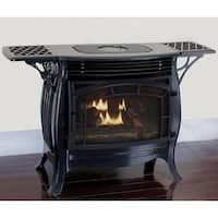 Duluth Forge Dual Fuel Ventless Gas Stove - Model FDSR25-GF, Gloss Finish, Remote Control