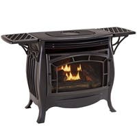 Duluth Forge Dual Fuel Ventless Gas Stove - Model FDSR25, Matte Finish, Remote Control